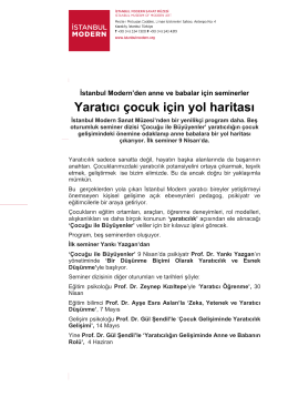pdf indir - İstanbul Modern