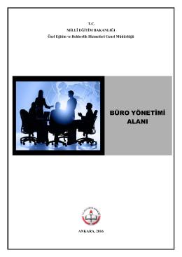 büro yönetimi alanı - Özel Eğitim ve Rehberlik Hizmetleri Genel