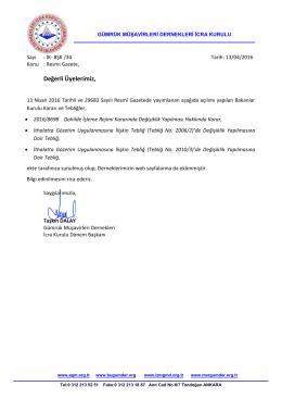 2016.04.13 İK-BŞK-34 İcra Kurulu ortak duyurusu