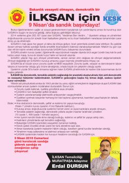 İLKSAN için - Antalya Eğitim Sen