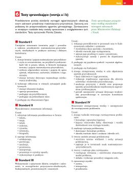 6 Testy sprawdzające (wersja a i b)