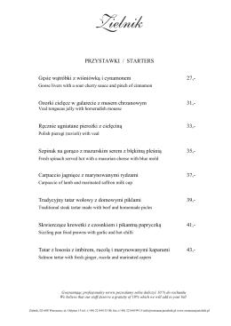 Pobierz plik PDF z aktualnym menu.