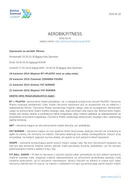 AEROBIK/FITNESS
