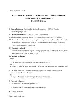 2. Kontrabas - Centrum Edukacji Artystycznej