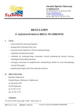 Ośrodek Sportu i Rekreacji w Sędziszowie
