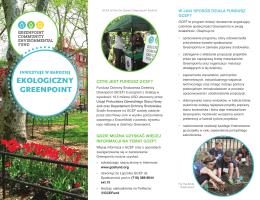ekologiczny greenpoint - Greenpoint Community Environmental Fund