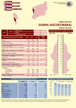 DOBRA (SZCZECIŃSKA) - Urząd Statystyczny w Szczecinie