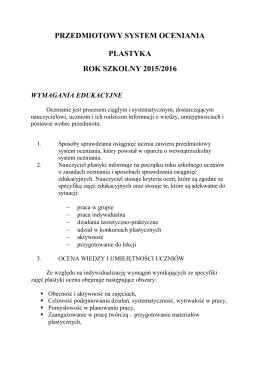 PSO plastyka - sp1puszczykowo.pl