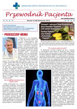 Przewodnik Pacjenta - kwiecień 2015