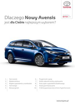 Dlaczego Nowy Avensis