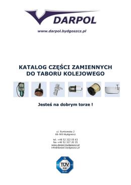 Katalog części kolejowych