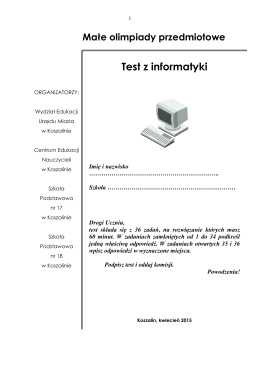 pobierz plik - Centrum Edukacji Nauczycieli w Koszalinie