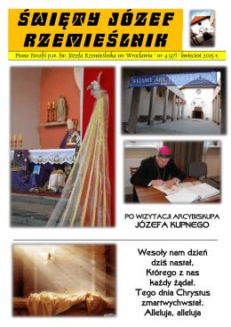 ŚWIĘTY JÓZEF - św. Józefa Rzemieślnika