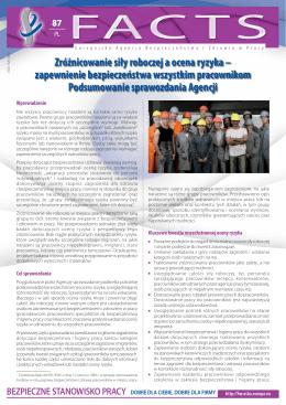 Zróżnicowanie siły roboczej a ocena ryzyka – zapewnienie