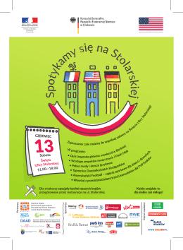 Impreza objęta honorowym patronatem Prezydenta Miasta Krakowa