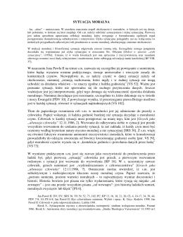 Haslo SYTUACJA MORALNA - Jarosław A. Sobkowiak
