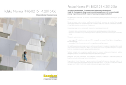 Polska Norma PN-B-02151-4:2015-06