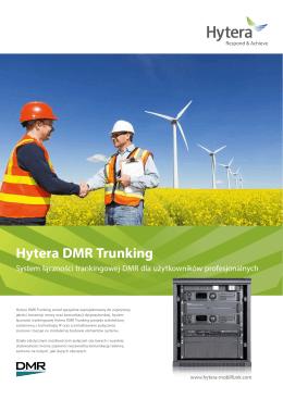 Hytera DMR Trunking - Hytera Mobilfunk GmbH