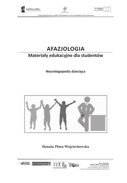 AFAZJOLOGIA - Projekt Kompetencje Nauczyciela
