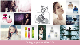 Zapachy AMWAY PPT