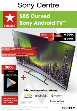 S85 Curved Sony Android TV™