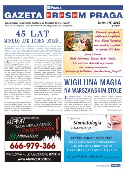 Gazeta eReSeM PRAGA - nr 04/2015