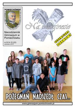 Niecodziennik Gimnazjum w Pomiechówku