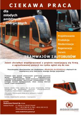 CIEKAWA PRACA - Modertrans Poznań Sp. z oo