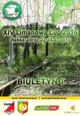 Biuletyn 1 - Limanowa Cup