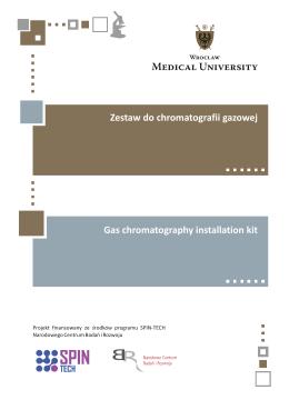 Zestaw do chromatografii gazowej.cdr