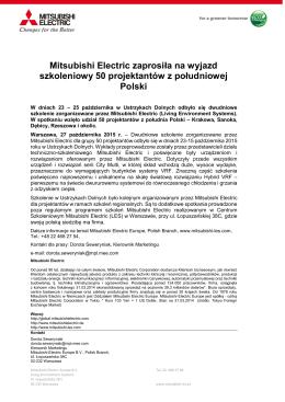 Zobacz PDF - Mitsubishi Electric