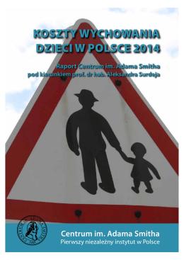 koszty wychowania dzieci w polsce 2014