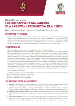 Pobierz PDF - Bureau Veritas Polska
