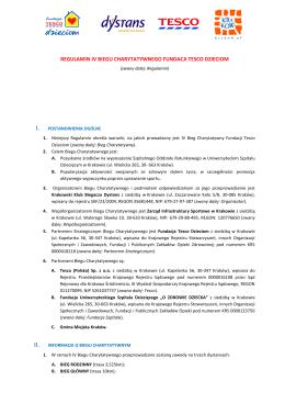Regulamin II Biegu Tesco Dzieciom.docx