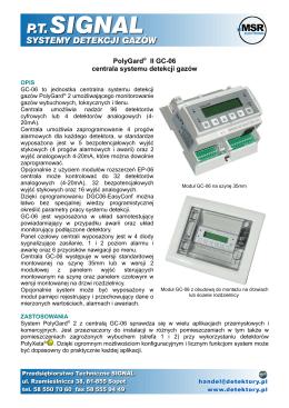 GC06 karta katalogowa