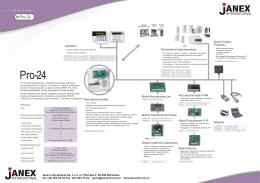 centrala alarmowa broszura - pro 24