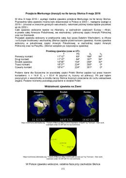 151 Przejście Merkurego (tranzyt) na tle tarczy Słońca 9
