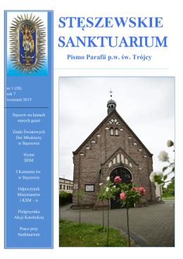 STĘSZEWSKIE SANKTUARIUM - Parafia Świętej Trójcy