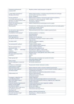Omówienie podstawowych przepisów BHP. o Wspólne ustalenie