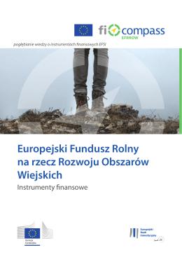 Europejski Fundusz Rolny na rzecz Rozwoju - Fi