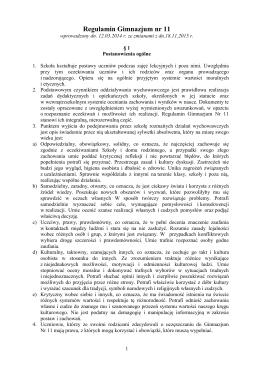 Regulamin Gim11