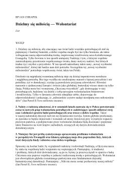 Cały list biskupa Jana Chrapka