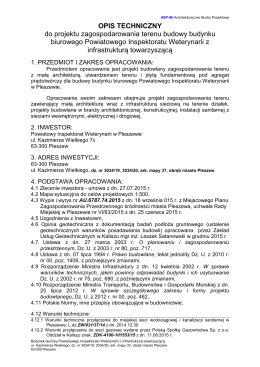 PI Weterynarii bud. biurowy PB opis PZT_w