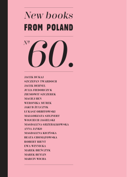 New books - Instytut Książki