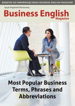 Pobierz dodatek do Business English Magazine nr 42
