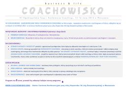 COACHOWISKO - warszawa.ngo.pl
