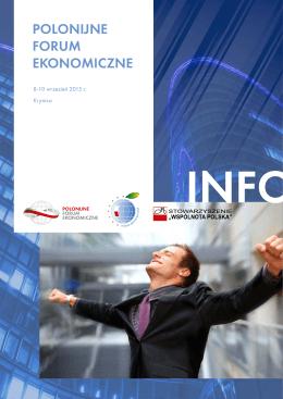 Polonijne Forum ekonomiczne