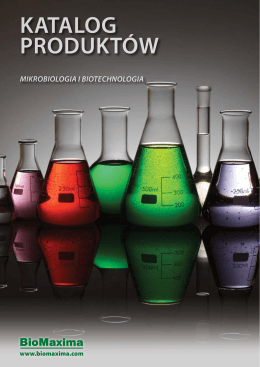 katalog produktów mikrobiologia i biotechnologia