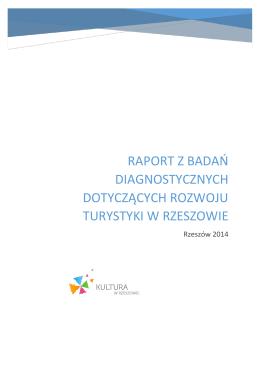 Raport z badań diagnostycznych dotyczących rozwoju