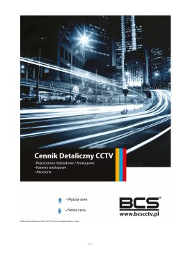 Cennik BCS